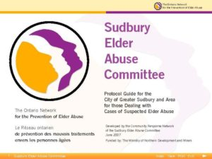 Sudbury Elder Abuse Committee Protocol Guide eng-thumbnail